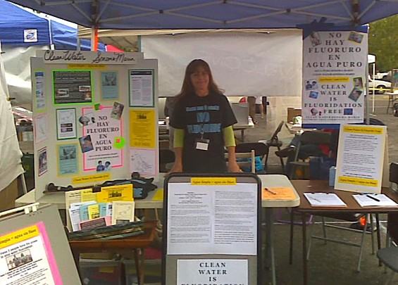 Clean Water Sonoma Marin Booth ~ Roseland Cinco de Mayo 2013