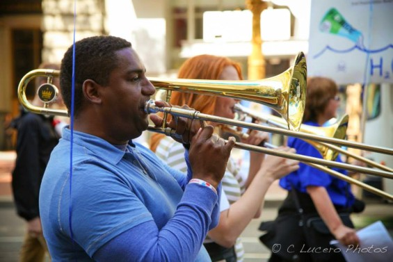 Trombone. Photo by C. Lucero
