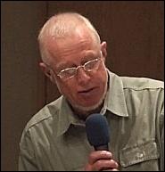 Moderator Stephen Fuller-Rowell