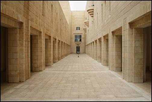 Inside the Supreme Court of Israel. Photo by Anthony Baratier