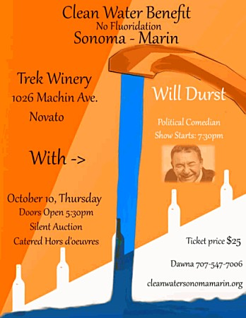 poster_Will-Durst_Trek-Winery_Clean-Water-Sonoma-Marin_450