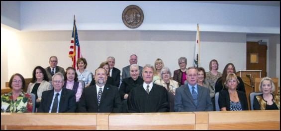 Members of the 2012-2013 Sonoma County Civil Grand Jury. Photo: Sonoma County