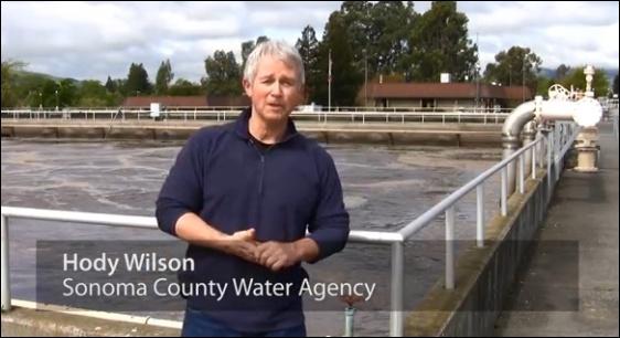 Hody Wilson explains SCWA wastewater treatment