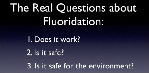 In his video Fluoridation and the Environment, Howard Patterson answers these three basic questions.