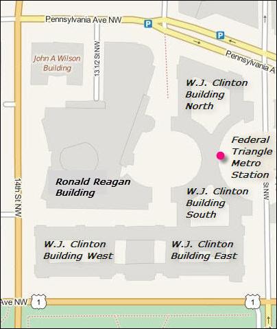 EPA Complex including William Jefferson Clinton Building West, home of NTEU 280