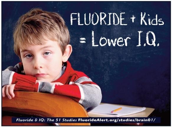 Fluoride & IQ: The 51 Studies - http://fluoridealert.org